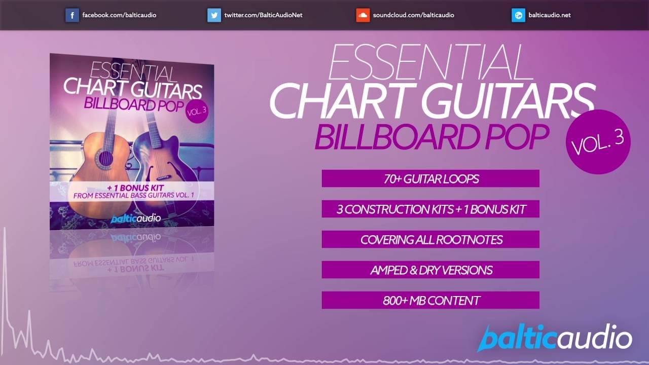 Essential Chart Guitars Vol 3 (70+ guitar loops, 3 construction kits, 1 bonus kit)