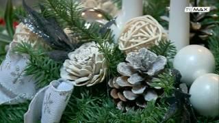 Mania Dekorowania - 2016.12.12 - Stroik świąteczny
