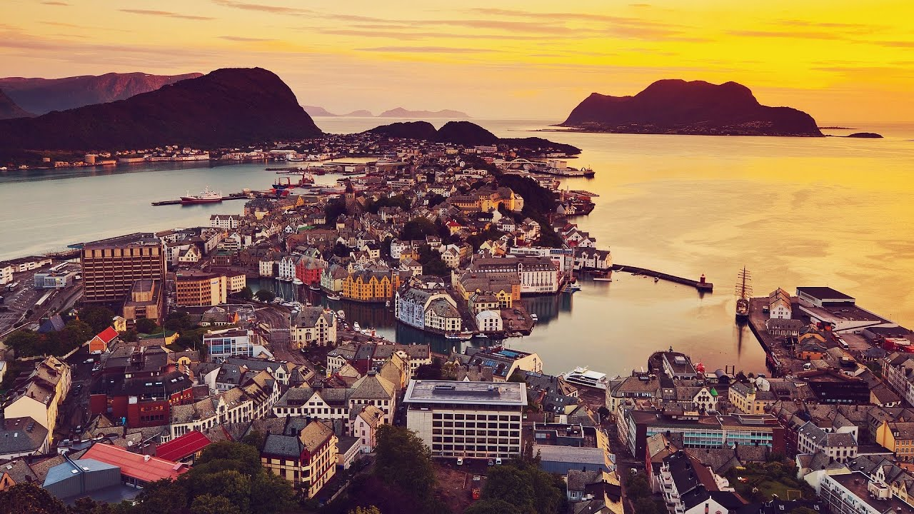 Путешествие по Норвегии за 3 минуты [time-lapse]