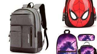 Stylish And  Beautiful Kids Bag 2020/ Cartoon Bag Spider Man Bags Color Full Bags 2020