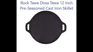 ROCK Cast Iron Dosa Tava - Amazon - Unboxing Haul