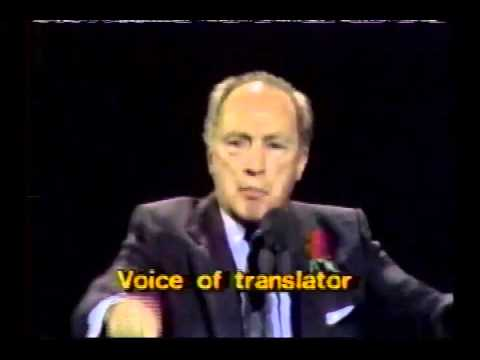 Pierre Trudeau Farewell Speech - 1984