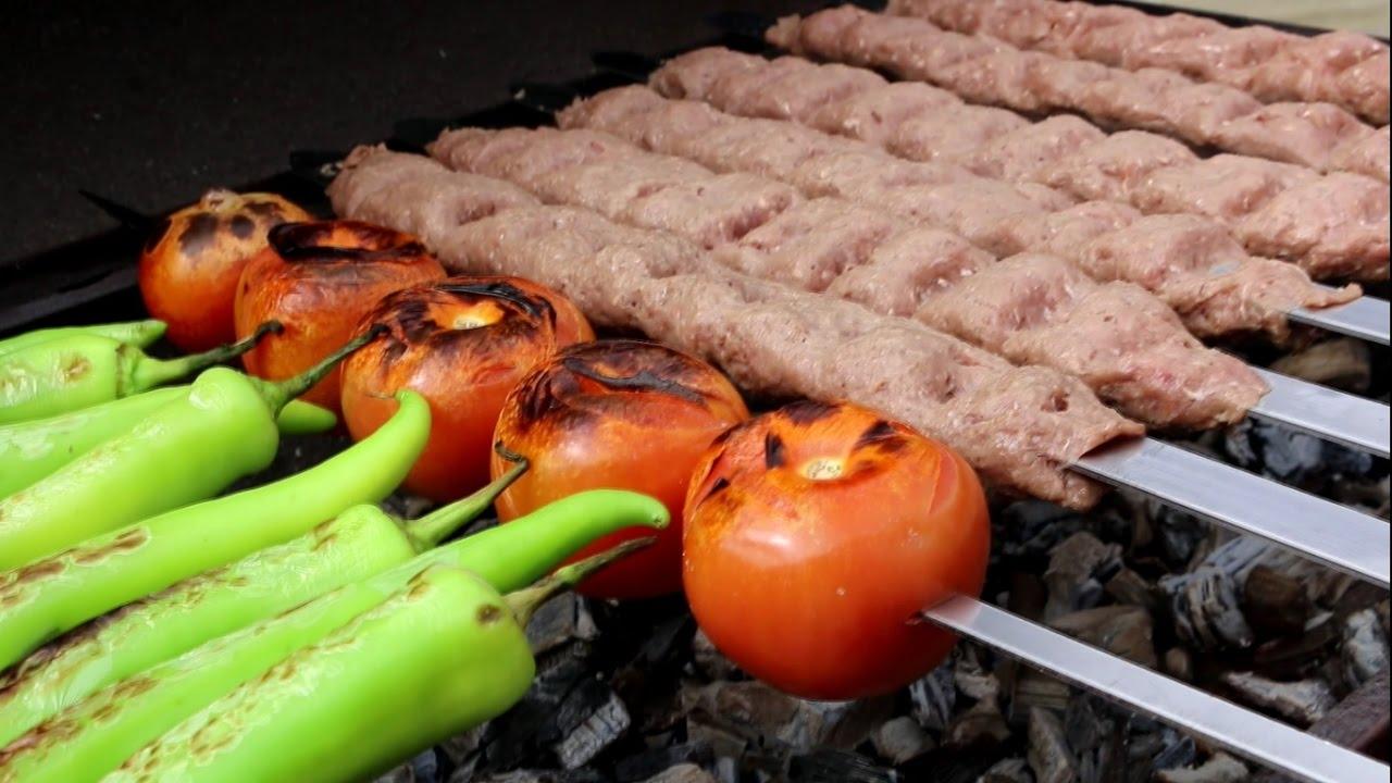 Persian Kabab Koobideh - Ground Beef And Lamb Kebabs - YouTube