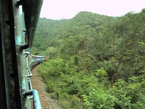 Vizag- Araku kirandul passenger train journey..