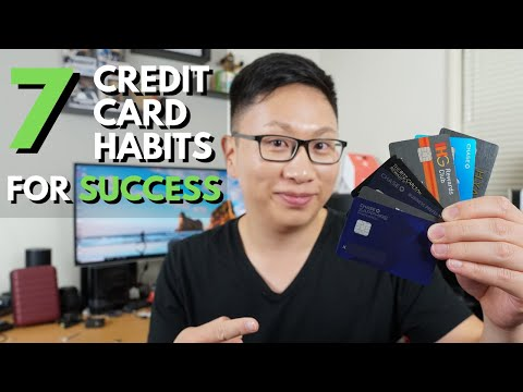 7 Habits of Highly Effective Credit Card Users