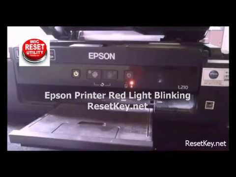 Free TRIAL WIC Reset Key - Reset Epson Red Light Blinking - Waste ink Counter