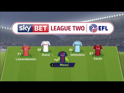 WHO WOULD WIN THE GOLDEN BOOT IF ALL THE TOP GOAL SCORERS PLAYED IN LEAGUE 2?!? FIFA 18 EXPERIMENT