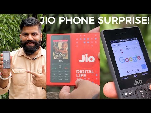 Thumbnail: Jio Phone Unboxing and First Look - 1500Rs Dhamaka 🔥 *GIVEAWAY*