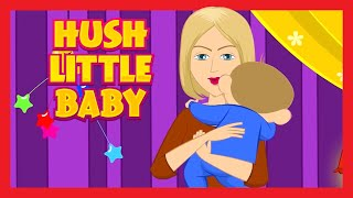 Hush Little Baby Lullaby Song for Babies with Lyrics | 1 Hour | Lullaby With Lyrics
