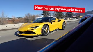 NEW FERRARI SF90 1000 HP HYPERCAR DELIVERED...