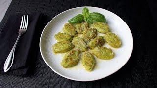 Basil Ricotta Gnocchi Recipe - How to Make Easy Ricotta Cheese Dumplings