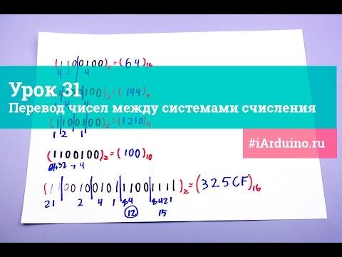 Как переводить в систему счисления