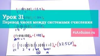 Урок 32. Перевод чисел между системами счисления