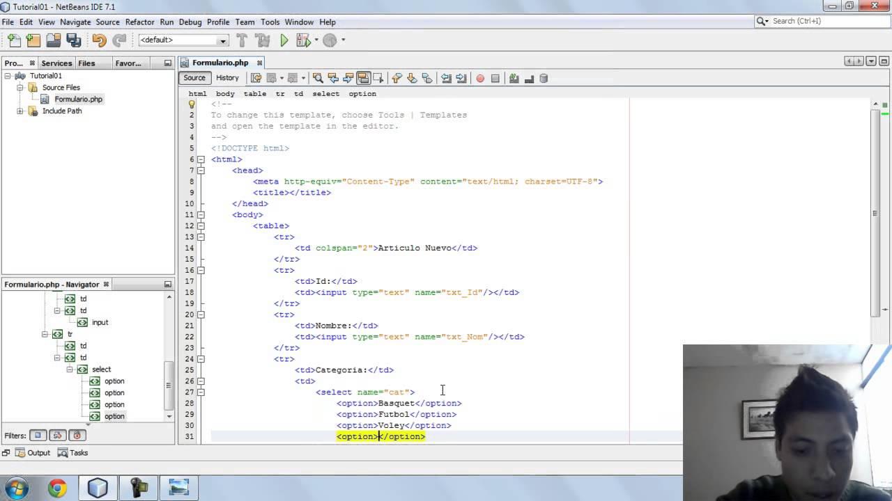 Como hacer un formulario en html youtube - Como construir un tejado ...