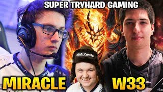 Miracle vs MinD_ContRoL and W33 - Who Will Win this Extraordinary Fight