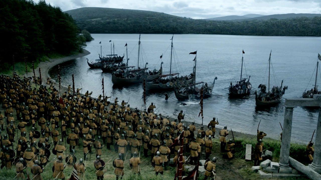 Download Vikings - Huge Battle against Brihtwulf (3x1) [Full HD]
