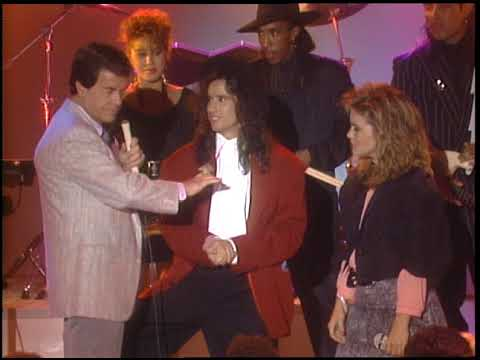American Bandstand 1987- Interview Jellybean and Elisa Florillo