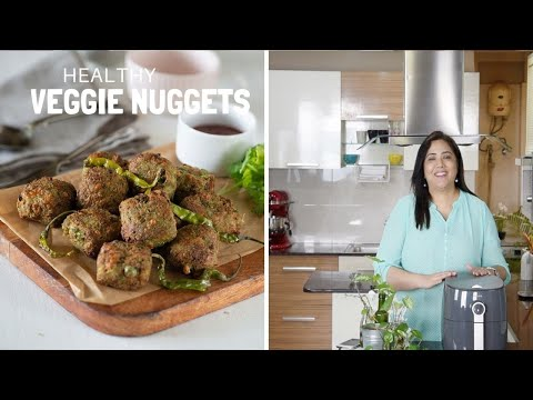 Veg Nuggets Recipe in Air fryer – Indian Air fryer snacks Recipe
