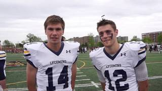 Lycoming Football Video -  QB Collin Wright and WR Nick Costello Interview