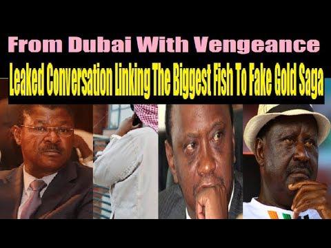 Fake Gold Audio Mentions Raila And Uhuru: The Inside Story