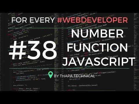 Programming Tip #38: Number Function in JavaScript ✍️ True = 1 / False = 0 ??? thumbnail