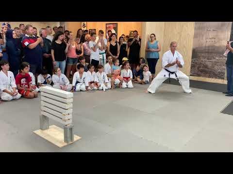 Chikara Martial Arts Academy Opening Demonstration. Judd Reid
