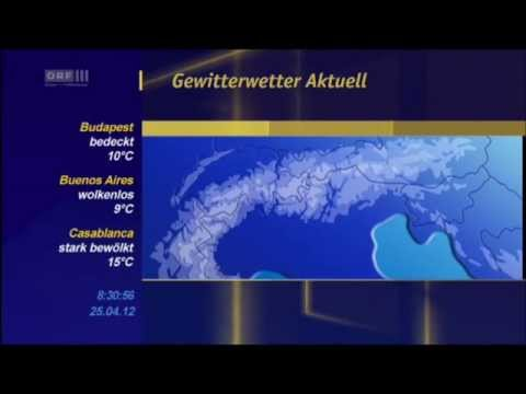 ORF III - Spezialwetter 2012-04-25