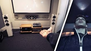 MY DREAM £5000+ HOME CINEMA ROOM DEMO! (NEW HOUSE)