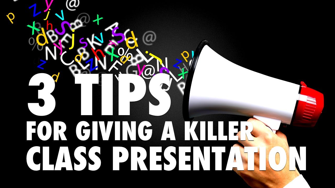 Its Not Cool To Give Your Google Killer >> 3 Tips For Giving A Killer Class Presentation Youtube