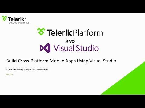 Build Cross-Platform Mobile Apps Using Visual Studio and .NET - Online Webinar
