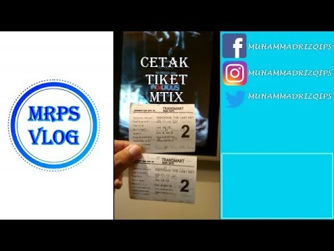 Cetak Tiket Booking Cinema Xxi Mtix Tix Id Youtube