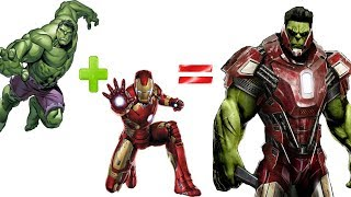 Marvel and DC Superheroes Fusion| iBr4hiM