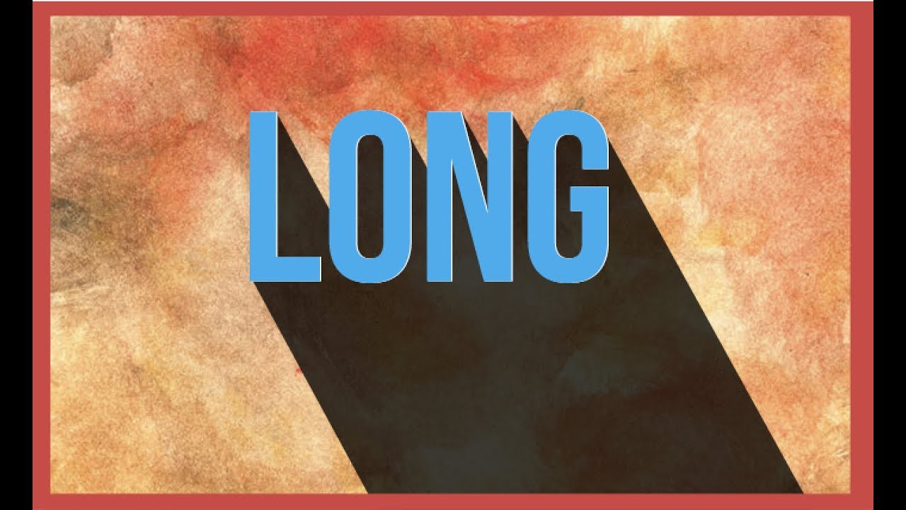 how to create long shadow in photoshop