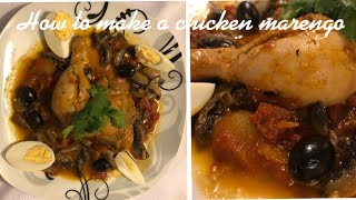 Chicken Marengo(Poulet Marengo)