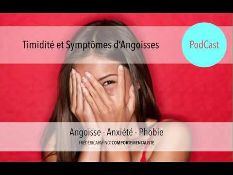 La Timidité - Un symptôme d'Angoisse