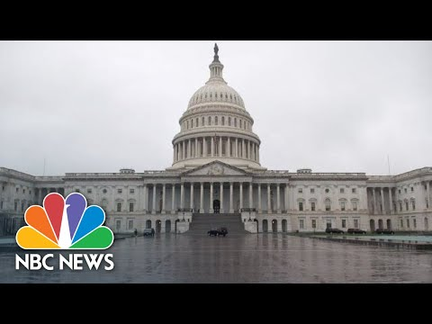 Senate votes on coronavirus stimulus package | NBC News (Live Stream Recording)