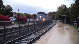 Trains on the Main and Bergen County Line 10/29/14