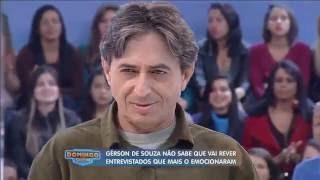 Gérson de Souza revê pessoas que entrevistou ao longo da carreira