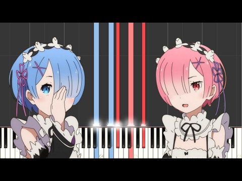 Re:Zero - STYX HELIX [Slow Ver.] (Synthesia) || TedescoCreations