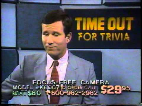 Time Out For Trivia with Todd Donoho from the 1980's