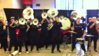 uconn pep band at 2011 big east championship in nyc tear it up