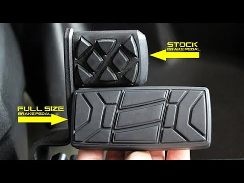 Full Size Brake Pedal for the Can-Am Spyder RS, RT, ST, F3