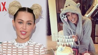 Miley Cyrus Surprises Britney Spears On Her Birthday!