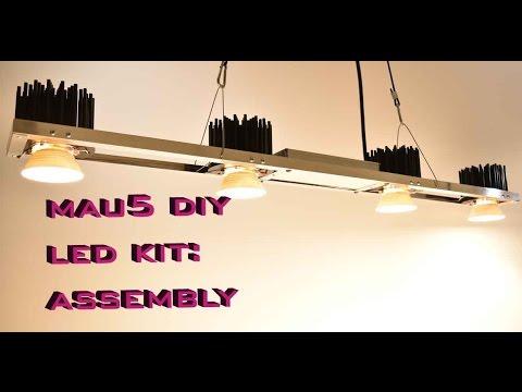 Diy M Kit 200w Quader Bauanleitung 4x Cree Cxb3590 Doovi