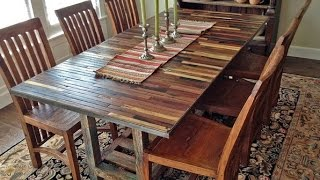 Reclaimed Dining Table for Kitchen and Dining Tables