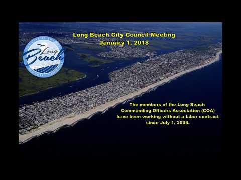 Special Long Beach City Council Meeting 01/01/18