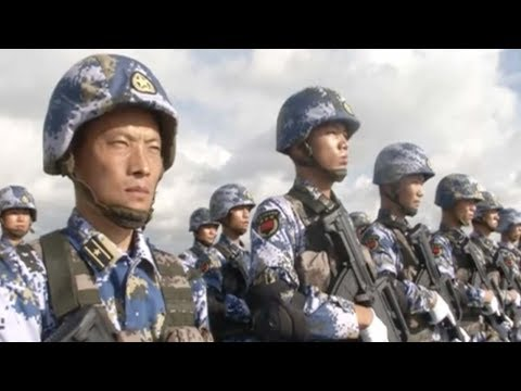 Chinese soldiers leave for new naval base in Djibouti