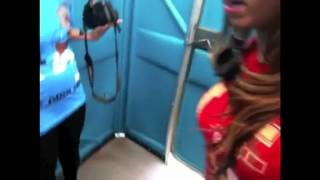 Locked in a porter potty prank Thumbnail