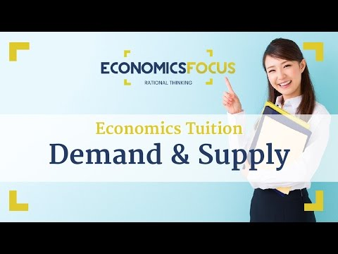 Economics Tuition – JC Economics Essays – Demand and Supply – Q1