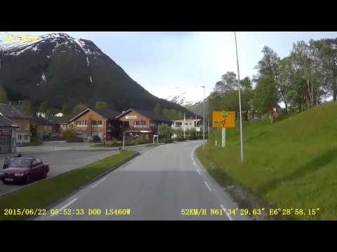 Trip  through Sogn og Fjordane county